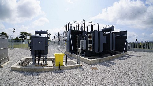 Construction and installation of the required electricity substations